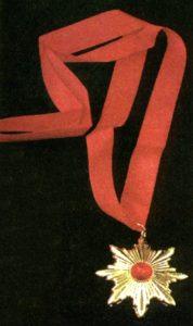 a-40601 red gem medal