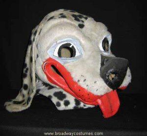 a0420 dalmatian dog head
