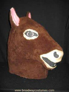 a0500 two-person donkey head