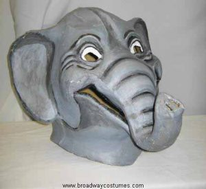 a0600 two-person elephant head