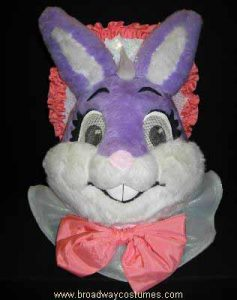a2186 purple rabbit head