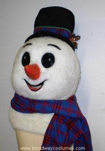 c0921 snowman head