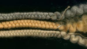 f-3276 crepe hair