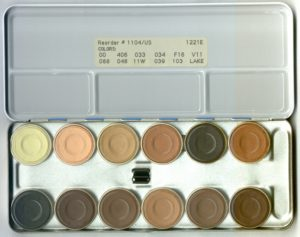 k-1104-us 12 color foundations and accents