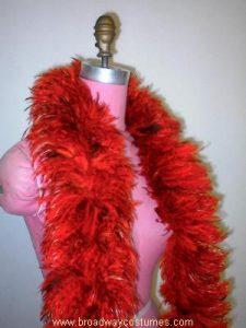 b5391 chicken neck feather boa