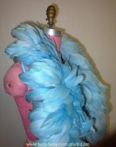 b5400 turkey feather boa