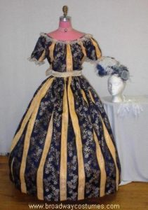 h2545 crinoline woman evening version 1