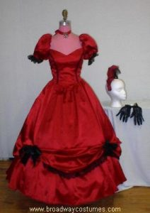 h2545 crinoline woman evening version 2