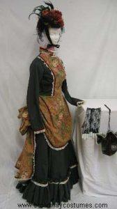 h2740a bustle woman day attire