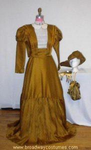 h2950 gibson girl dress