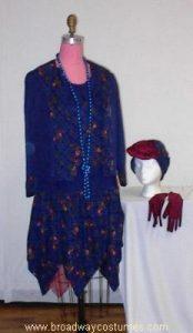 h3145 1920s woman suit