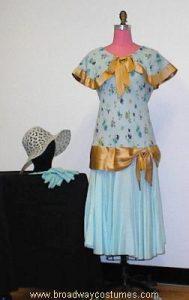 h3150 1920s tea dress