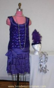 h3155 1920s evening gown