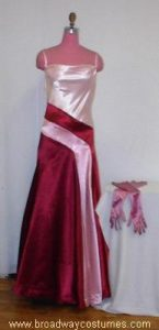 h3350 1930s woman evening gown