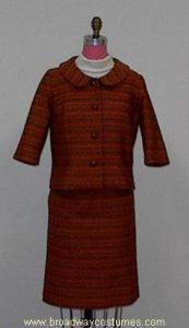 h3645 1960s woman suit