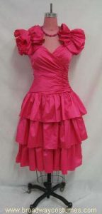 h3855 1980s woman prom