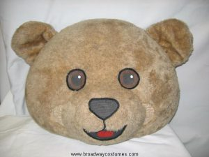 a0070 cuddles bear head