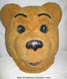 a0090 circus bear head