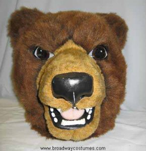 a0110 brown bear head